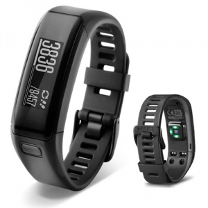 Фитнес-браслет Garmin Vivosmart HR Black, regular (010-01955-00)