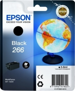 Картридж Epson C13T26614010 WorkForce WF-100W Черный