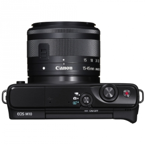 Canon EOS M10 Kit EF-M 15-45 IS STM Black