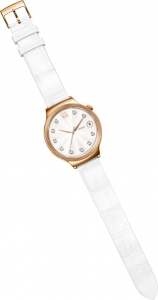 Huawei Watch Elegant (Leather Pearl White, Leather Strap)