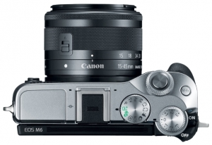 Canon EOS M6 EF-M15-45 IS STM Kit