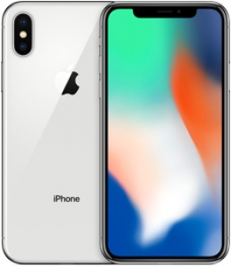 Apple iPhone X 64GB Silver (серебристый) A1901 EU