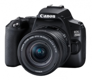 Фотоаппарат Canon EOS 250D Kit Black