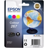 Картридж EPSON C13T26704010 WorkForce WF-100W Цветной