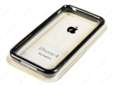 Чехол-бампер Apple iPhone 4 Bumpers Black MC839ZM-B для iPhone 4 и 4S