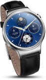 Умные часы Huawei Watch Classic (Stainless steel , Black leather)