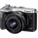 Canon EOS M6 EF-M15-45 IS STM Silver Kit