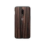 Чехол OnePlus 6T Ebony Wood Bumper Case 5431100065
