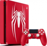 Sony Playstation 4 Slim 1TB  Red Limited Edition Spider-Man