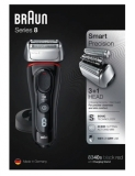 Электробритва Braun 8340s Series 8 8340s black red